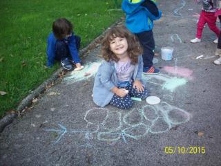 Dječji tjedan - crtanje u gradskom parku