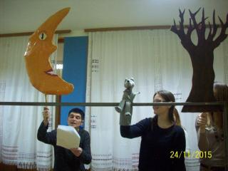 Priprema božićne predstave
